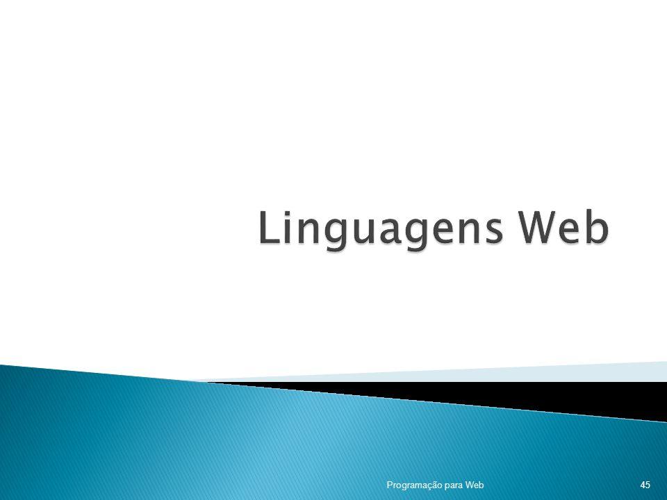 Programação para Web45