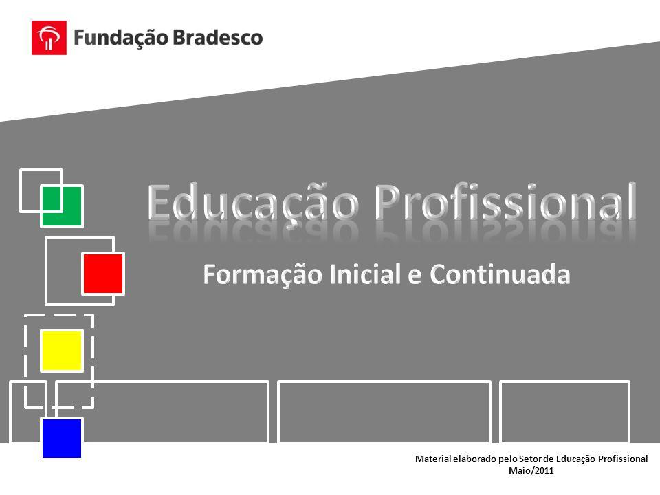 Material elaborado pelo Setor de Educação Profissional Maio/2011
