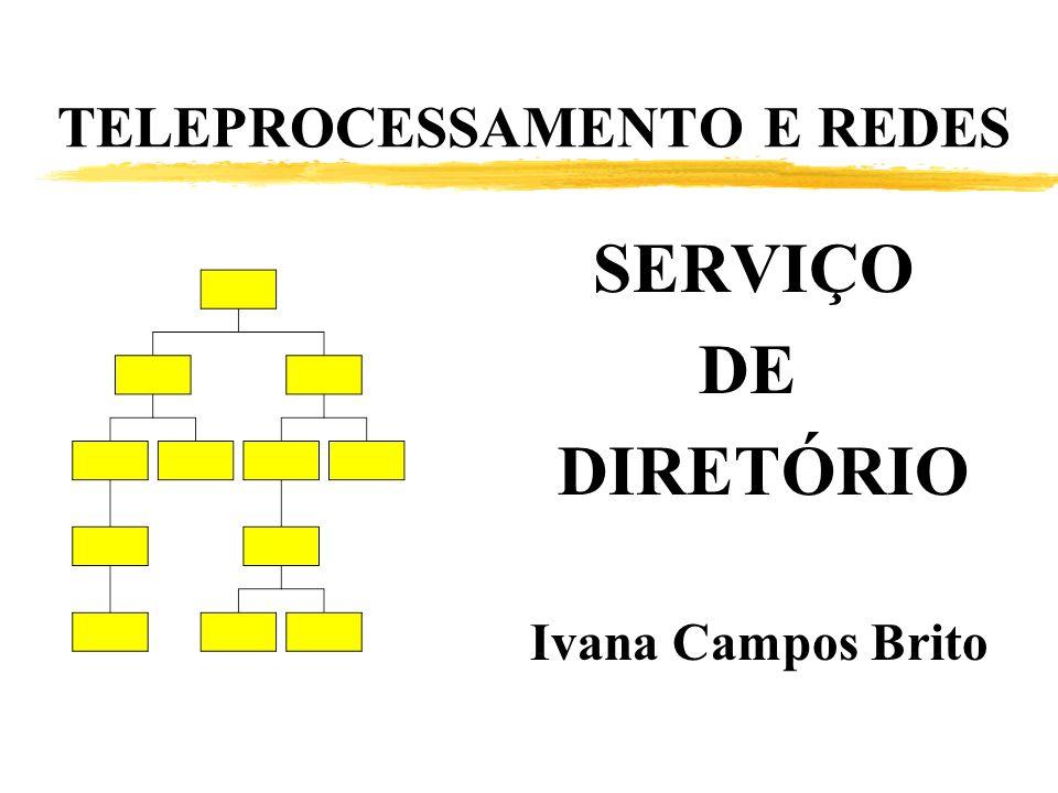 TELEPROCESSAMENTO E REDES SERVIÇO DE DIRETÓRIO Ivana Campos Brito