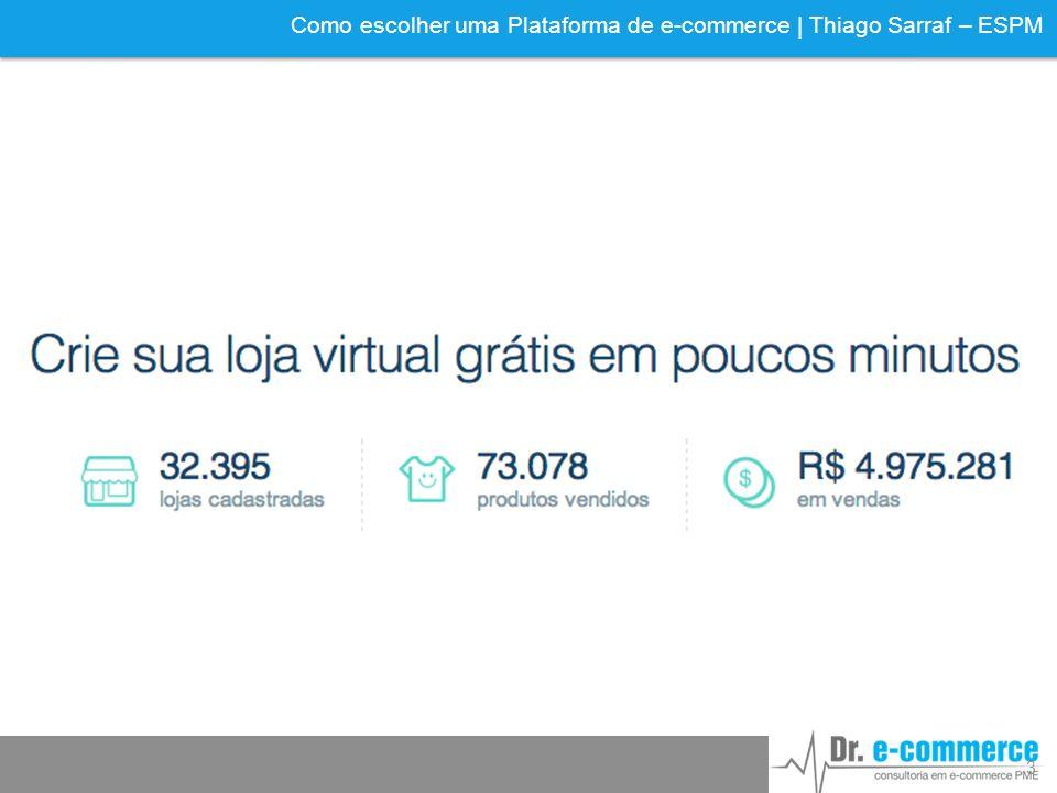 Como escolher uma Plataforma de e-commerce | Thiago Sarraf – ESPM 3