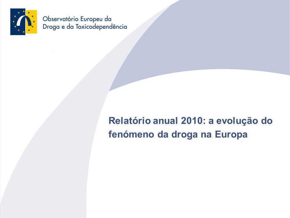 12 Tendências na média de idades de mortes induzidas pela droga nalguns países europeus Heroína e consumo por injecção Cocaína Ecstasy e anfetaminas Cannabis Novas drogas e a Internet Resposta aos problemas da droga