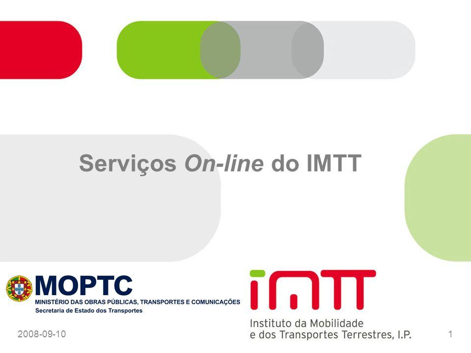 2008-09-1012 Integração de Sistemas SI Internos Serviços Online