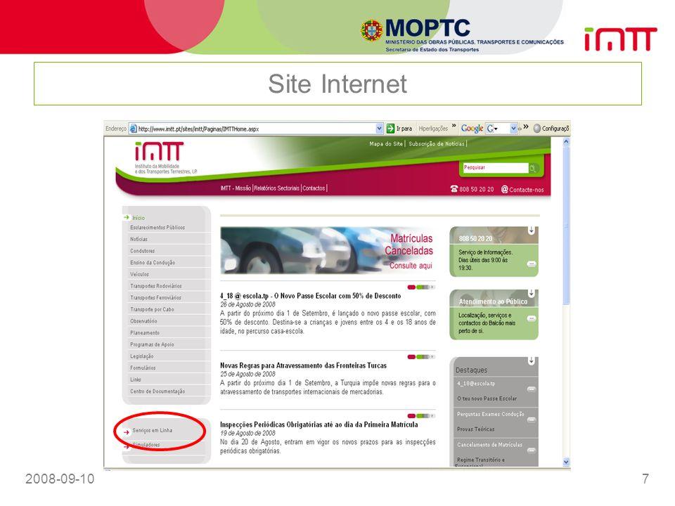 2008-09-107 Site Internet