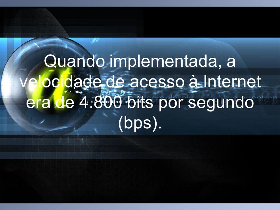 Usuários, acessos e domínios. Os primeiros sites no Brasil.