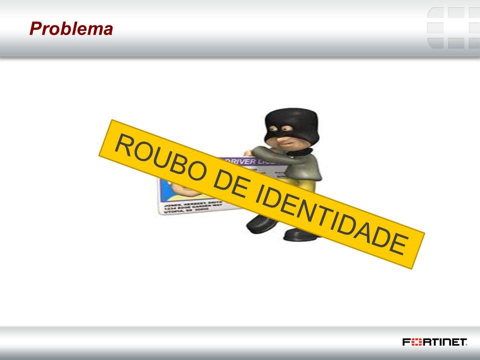 26 Fortinet Confidential Problema ROUBO DE IDENTIDADE