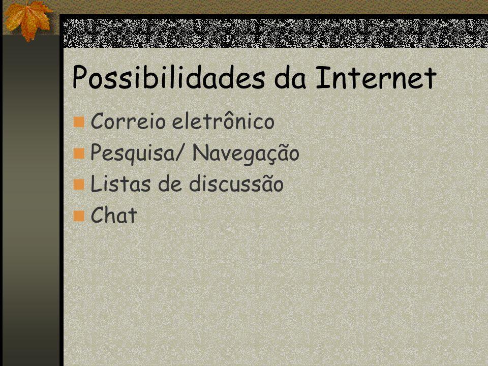 Aqui você vai aprender o básico sobre os termos usados na Internet: Web ou WWW; Links; Website; URL.