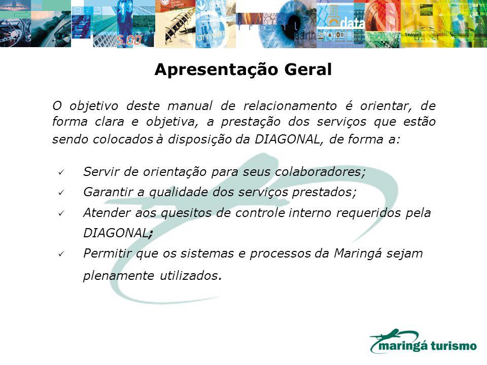 O objetivo deste manual de relacionamento é orientar, de forma clara e objetiva, a prestação dos serviços que estão sendo colocados à disposição da DI