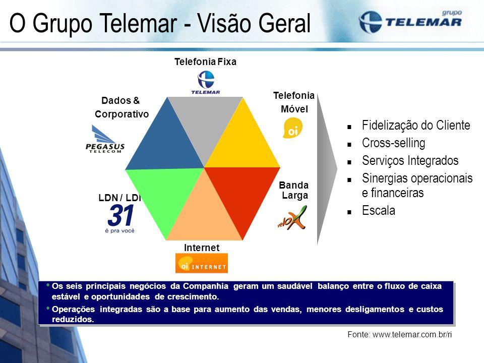 Os seis principais negócios da Companhia geram um saudável balanço entre o fluxo de caixa estável e oportunidades de crescimento. Operações integradas