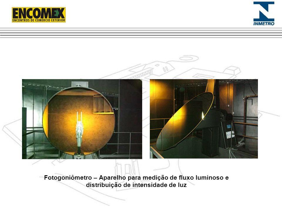Fotogoniômetro – Aparelho para medição de fluxo luminoso e distribuição de intensidade de luz