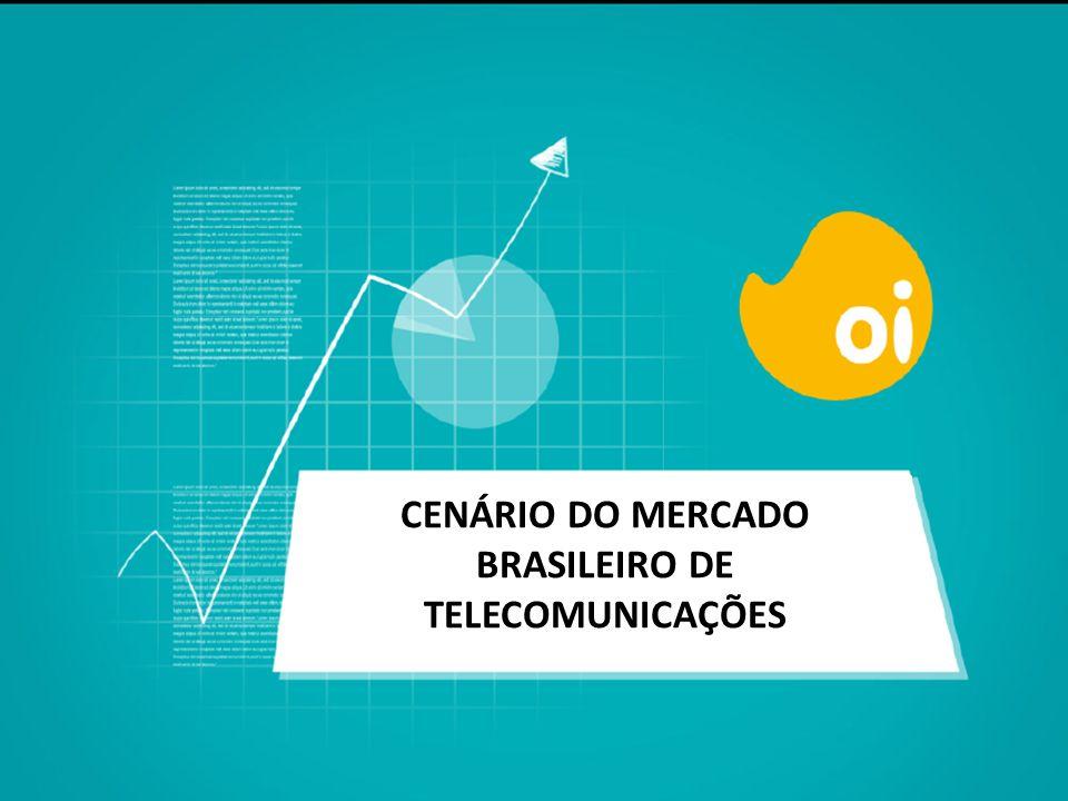 CENÁRIO DO MERCADO BRASILEIRO DE TELECOMUNICAÇÕES
