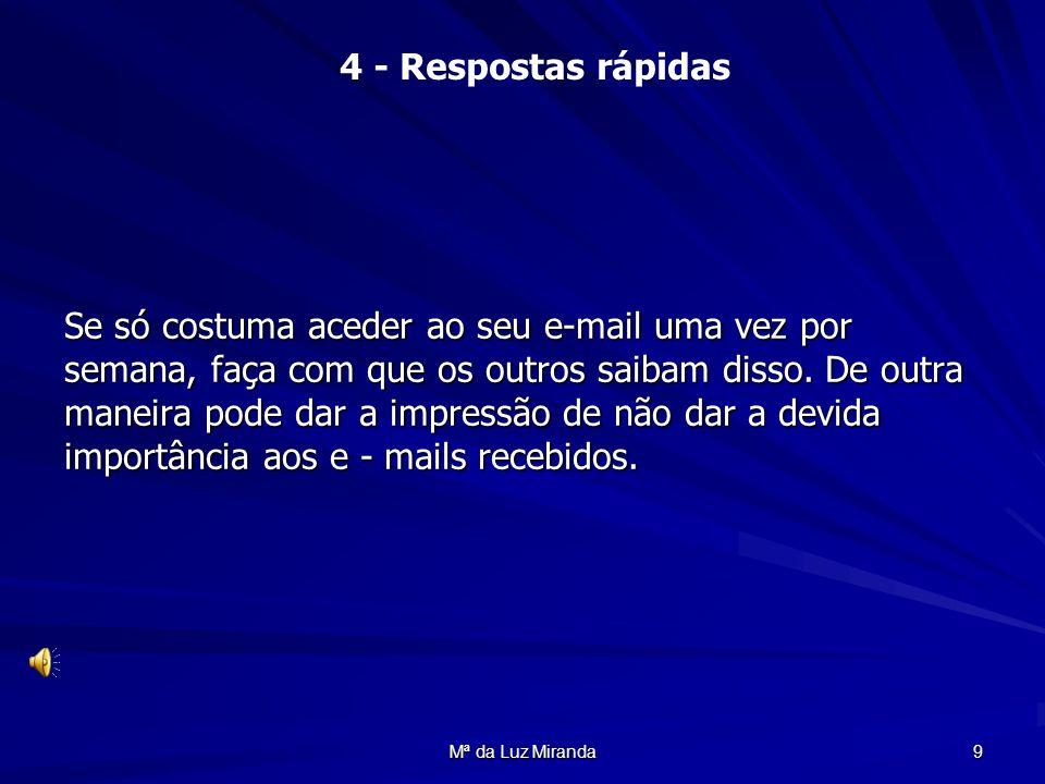 Mª da Luz Miranda 40 ASSIM!!!