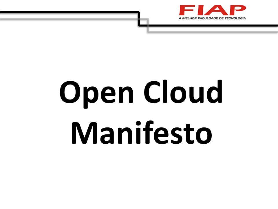 Open Cloud Manifesto