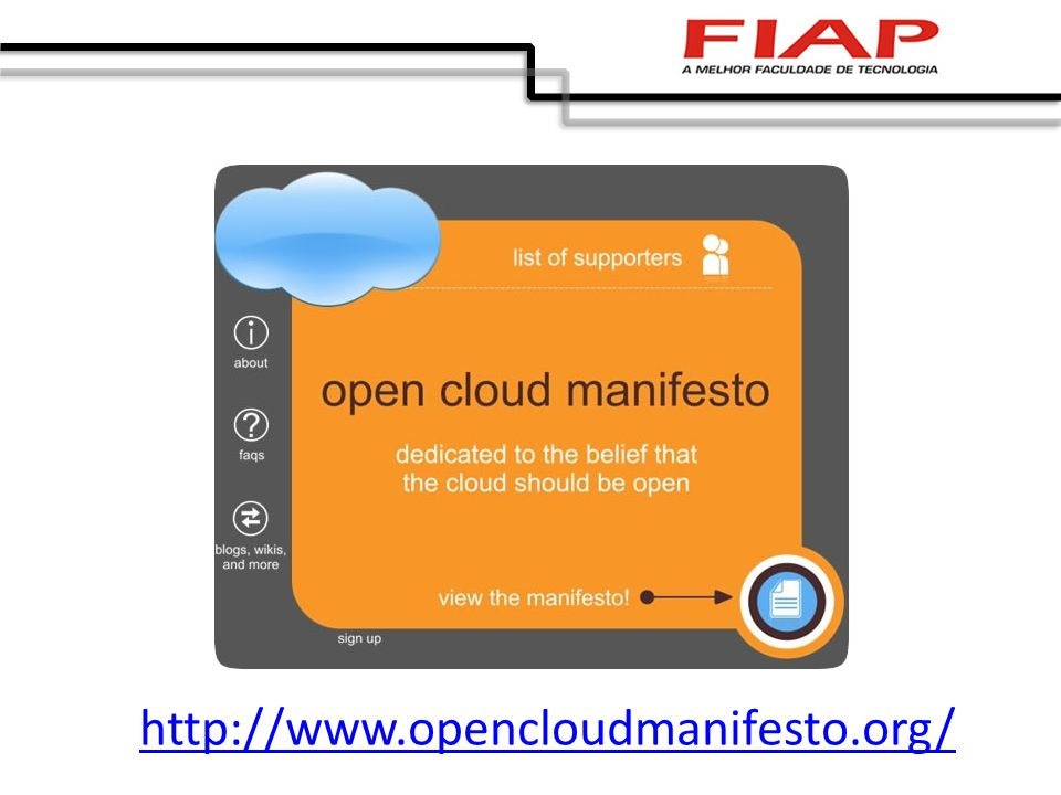 http://www.opencloudmanifesto.org/