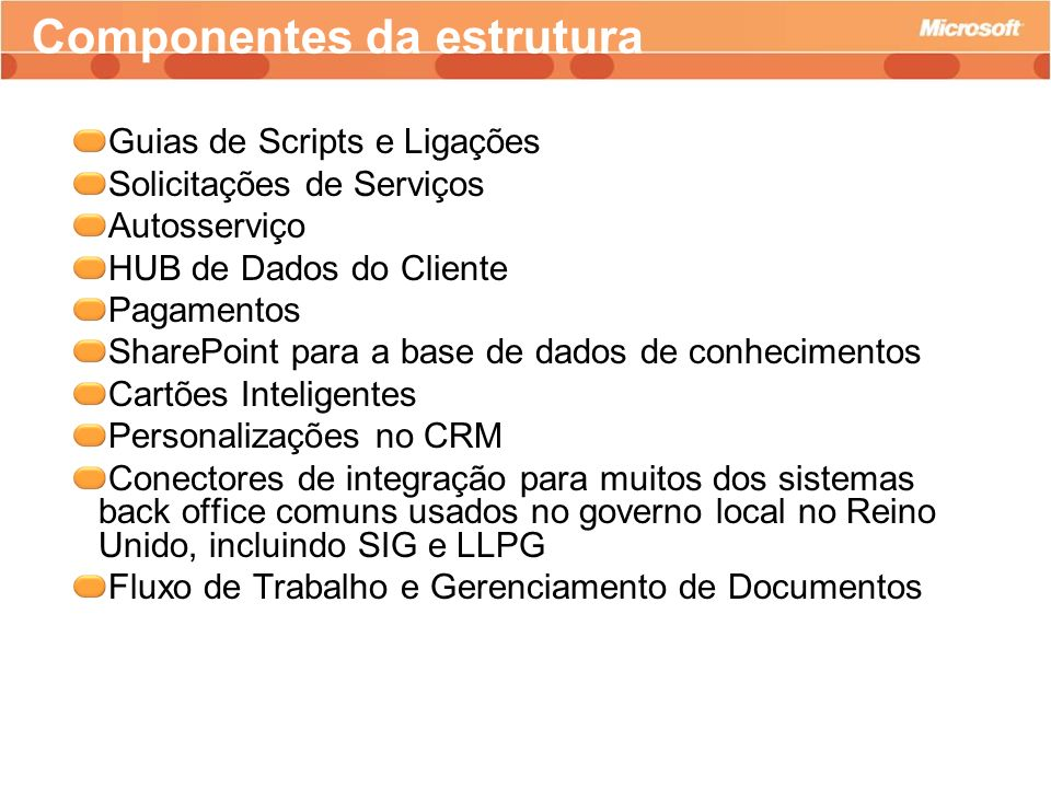 Guias de Scripts e Ligações Solicitações de Serviços Autosserviço HUB de Dados do Cliente Pagamentos SharePoint para a base de dados de conhecimentos