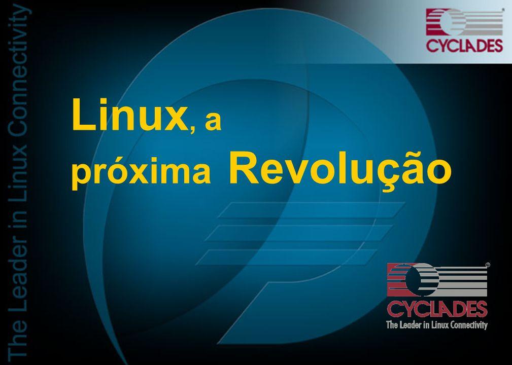 Cyclades: Melhor hardware para Linux Premiada por 6 anos consecutivos
