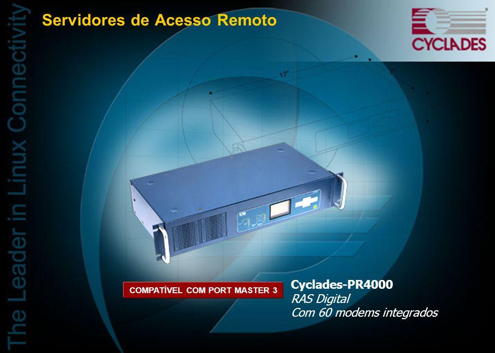 Aplicação Cyclades-PR3000 com VoFR Externo
