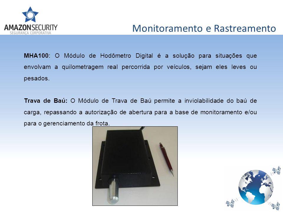 Monitoramento e Rastreamento MHA100: O Módulo de Hodômetro Digital é a solução para situações que envolvam a quilometragem real percorrida por veículo