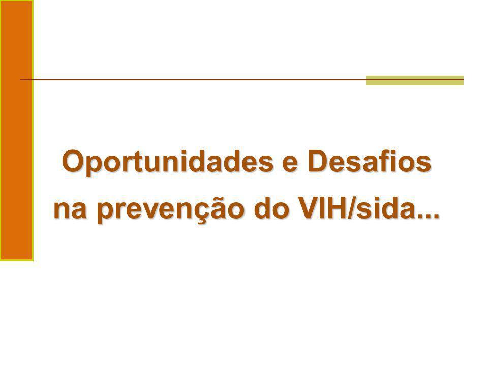 Oportunidades e Desafios na prevenção do VIH/sida...