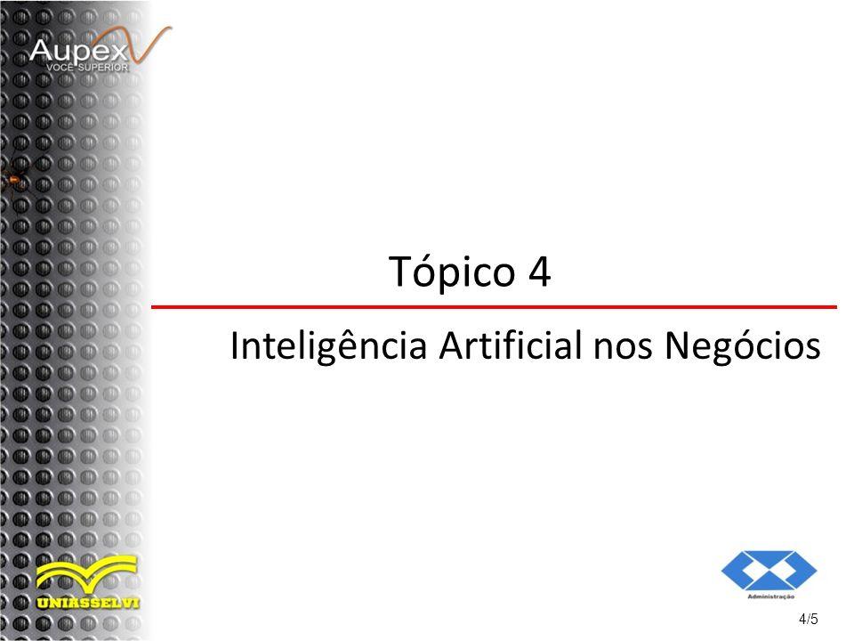 4/5 Tópico 4 Inteligência Artificial nos Negócios