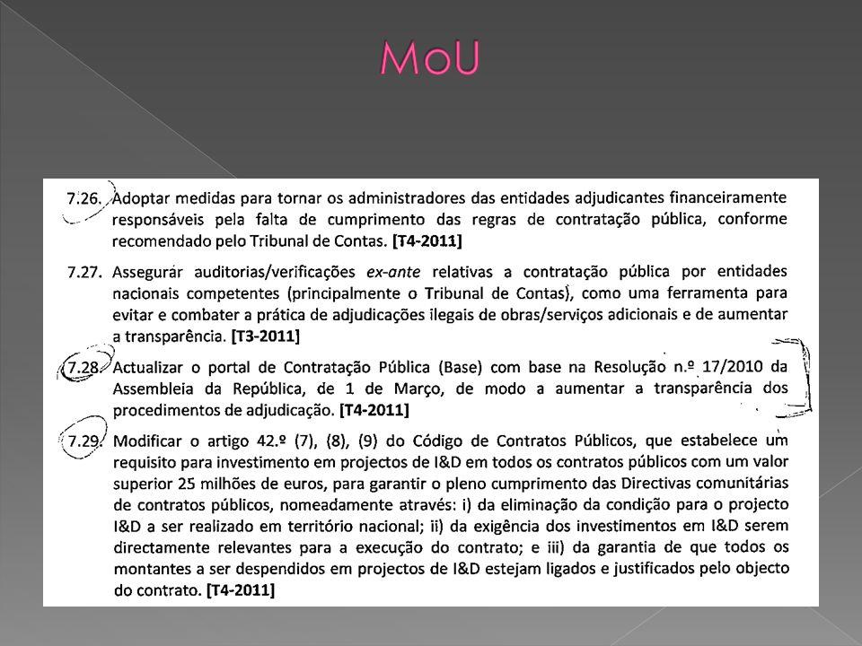 Fundações públicas previstas na Lei n.º 62/2007 (art.º 2.º, n.º 1 al.