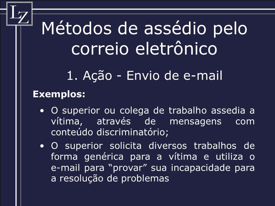 L Z Métodos de assédio pelo correio eletrônico 1.