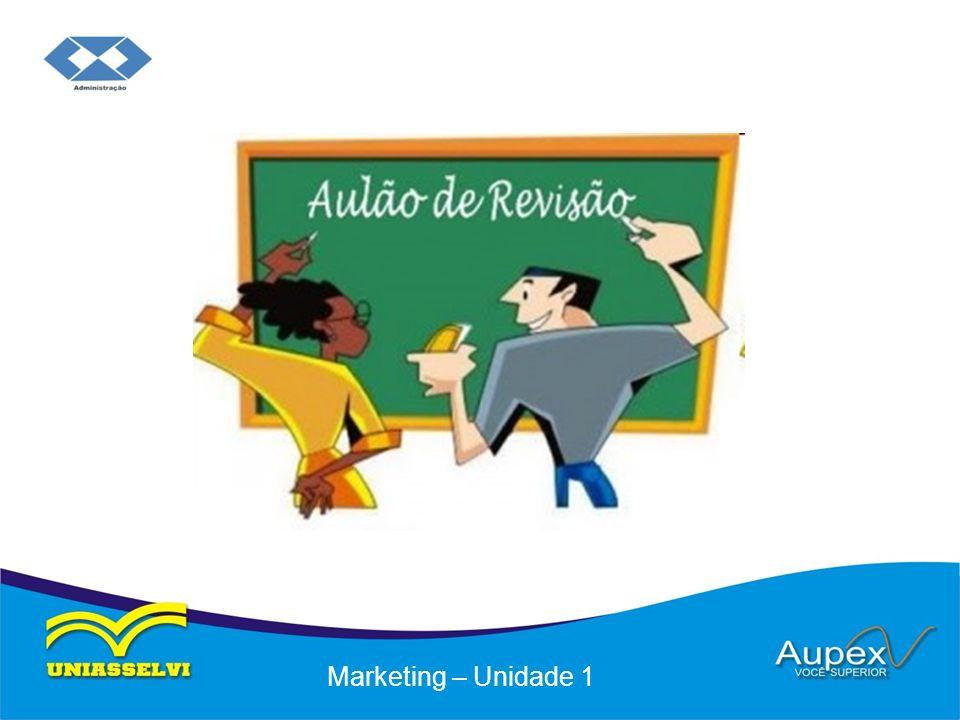 Educação a Distância – EaD Professor: Flávio Brustoloni Marketing