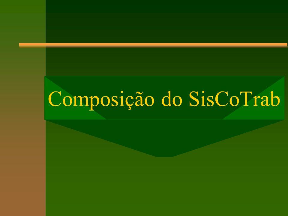 Composição do SisCoTrab