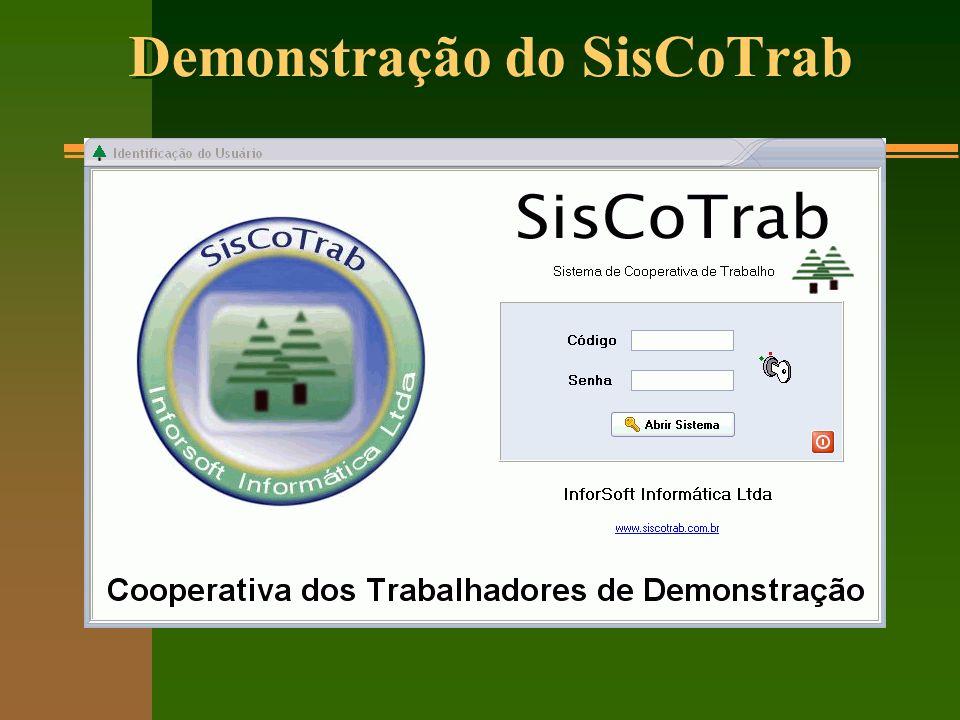 Sistema de Informações da Cooperativa Cadastro do Cooperado