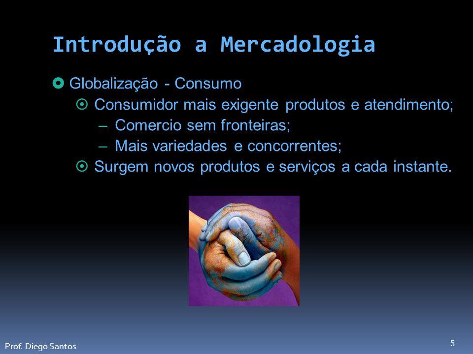6 Globalização - Empresas Novas tecnologias; Obsolescência de produtos, serviços e instalações de produção; Introdução a Mercadologia Prof.