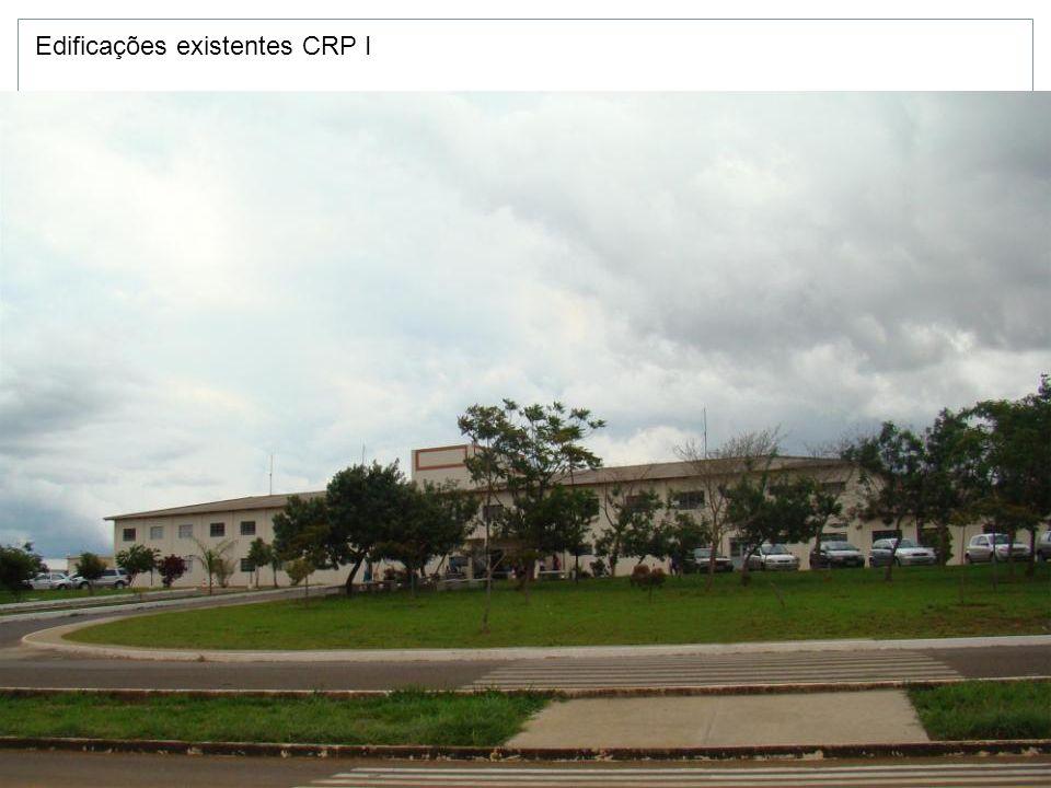 Edificações existentes CRP I