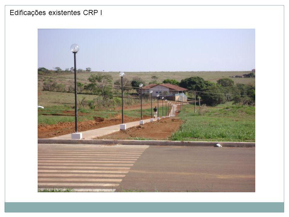 Edificações existentes CRP II