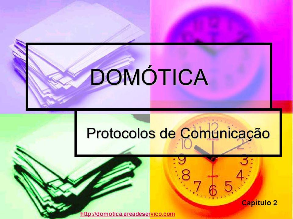 DOMÓTICA Protocolos de Comunicação Capítulo 2 http://domotica.areadeservico.com