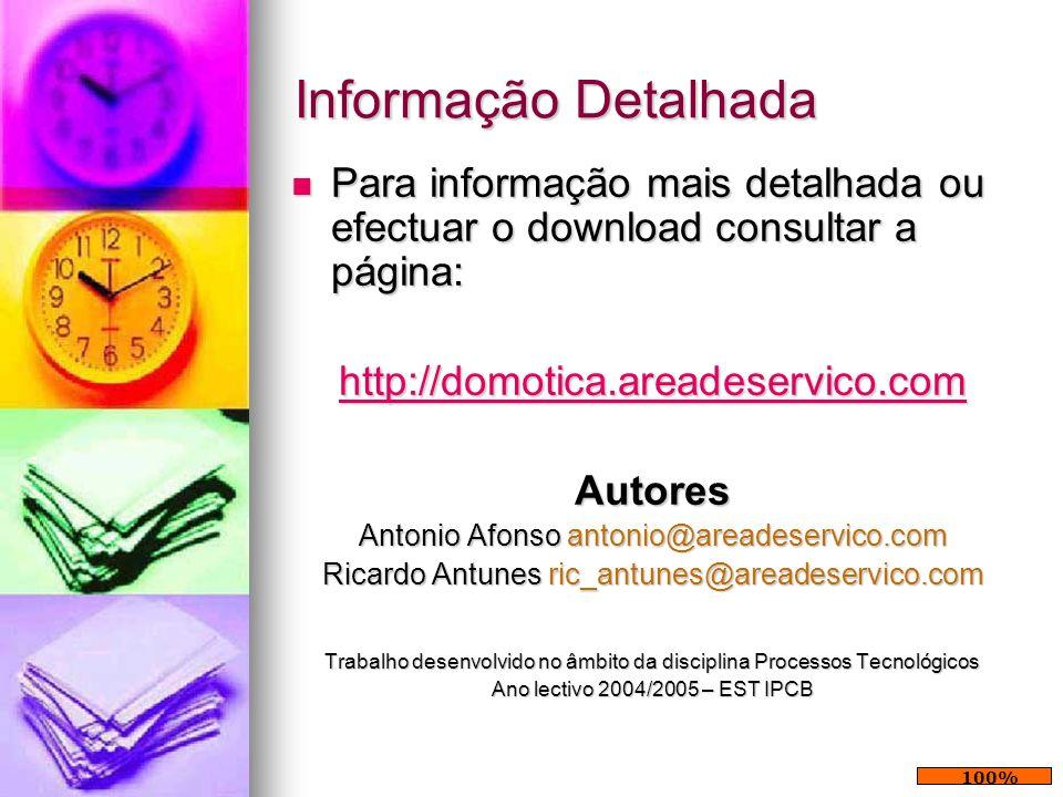 Informação Detalhada Para informação mais detalhada ou efectuar o download consultar a página: Para informação mais detalhada ou efectuar o download c