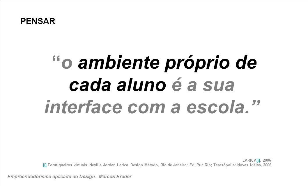 PENSAR LARICA[i], 2006 [i] Formigueiros virtuais. Neville Jordan Larica. Design Método, Rio de Janeiro: Ed. Puc Rio; Teresópolis: Novas Idéias, 2006.[