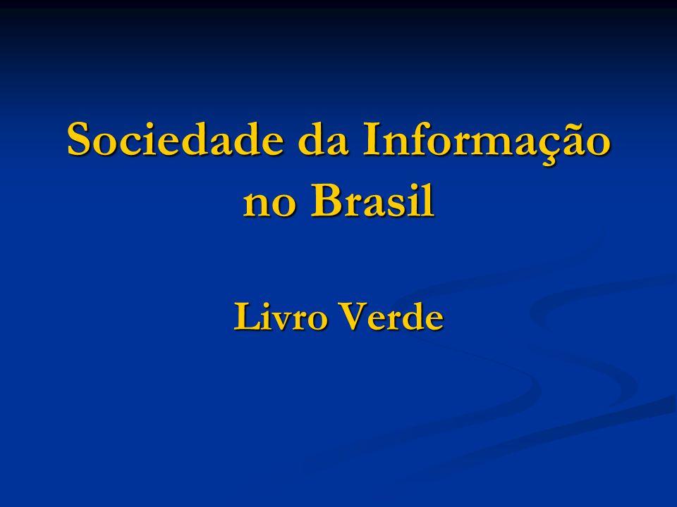 Sociedade da Informação no Brasil Livro Verde