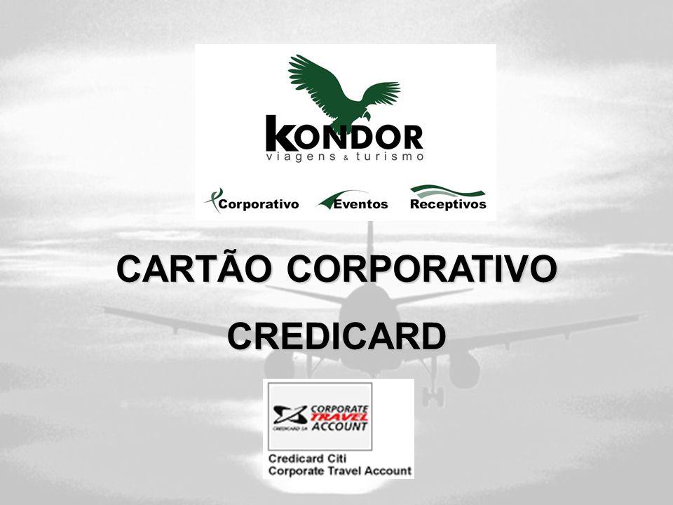 CARTÃO CORPORATIVO CREDICARD