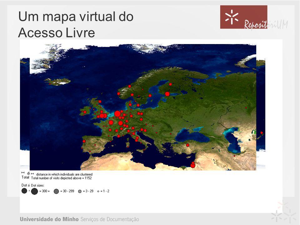 Um mapa virtual do Acesso Livre