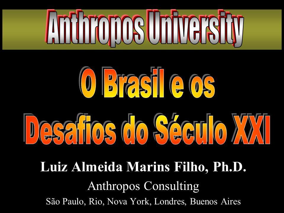 Luiz Almeida Marins Filho, Ph.D. Anthropos Consulting São Paulo, Rio, Nova York, Londres, Buenos Aires Luiz Almeida Marins Filho, Ph.D. Anthropos Cons