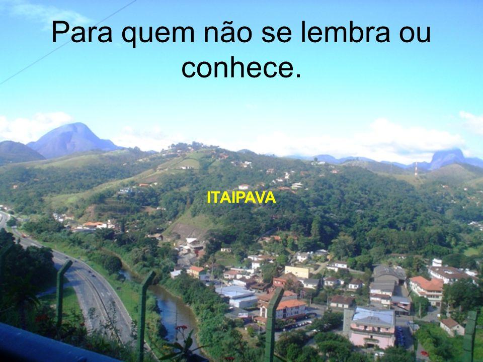 1.Por que em Itaipava? É uma cidade agradável, próxima do Rio, com ótimo acesso, boas atrações e conhecida de quase todos. 1.Por que no CGEA? É do EB,