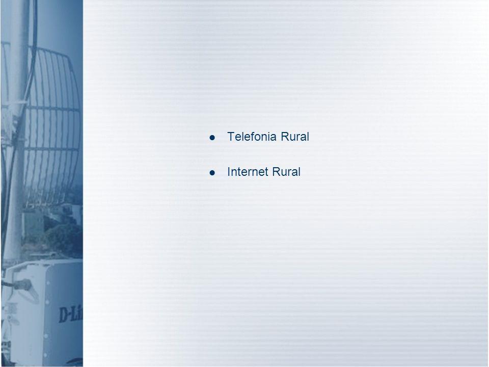 Telefonia Rural Internet Rural