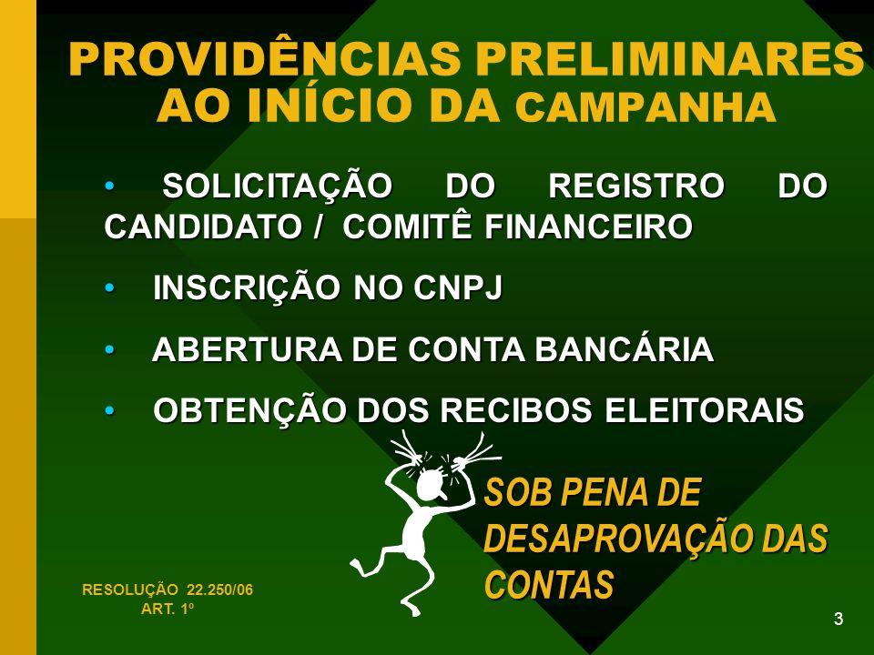 54 FONTES DE ARRECADAÇÃO - FONTES VEDADAS - E MAIS...
