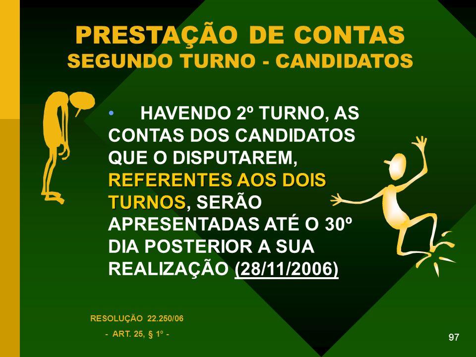 97 RESOLUÇÃO 22.250/06 - ART.