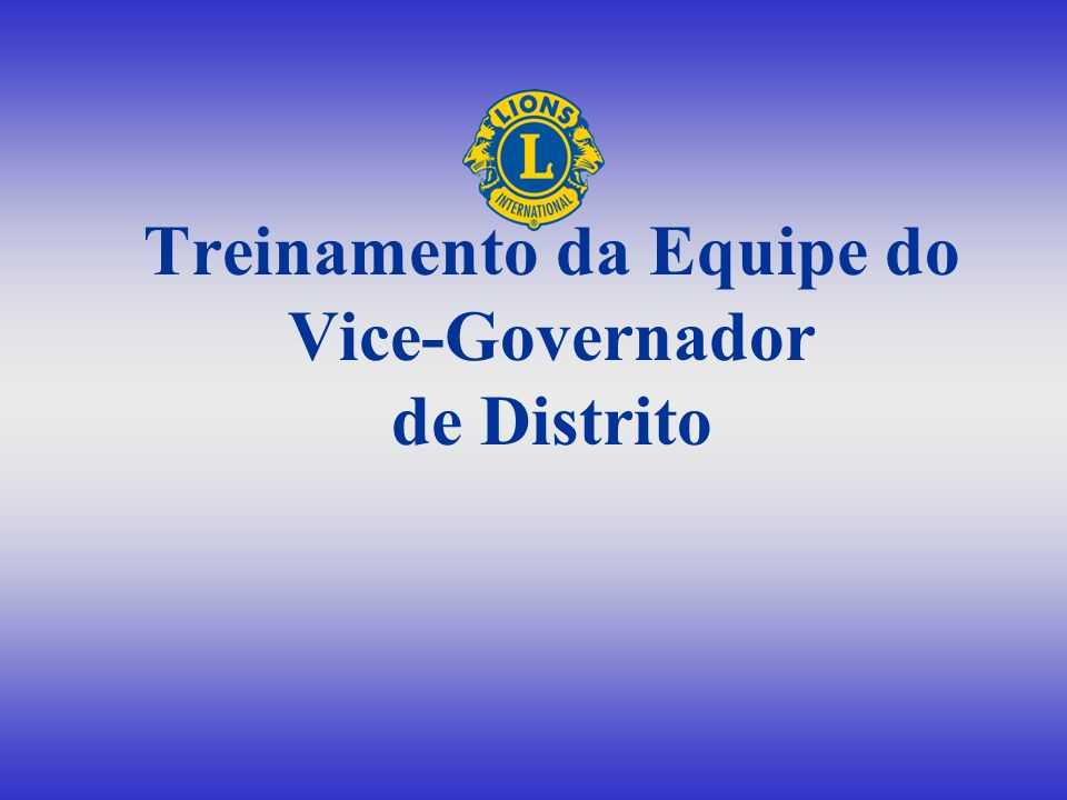 Escolha a resposta correta O 2 ° VGD é responsável pela Visitas a todos os clubes A B Supervisão do gabinete Análise da situação dos clubes Promoção da harmonia CD