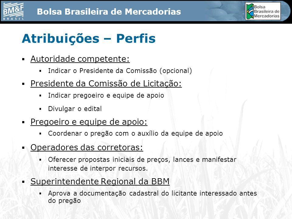 Bolsa Brasileira de Mercadorias ÓRGÃO PROMOTOR 02 - Fase Competitiva - Negociação FORNECEDOR A PREGOEIRO PREGÃO SALA VIRTUAL DIA E HORA CORRETORA ACORRETORA B FORNECEDOR B COORDENAÇÃO 1)ABERTURA DAS PROPOSTAS 2)ORDENAMENTO DAS OFERTAS 3)NEGOCIAÇÃO CONTRA OFERTA 4)FECHAMENTO RANDOMICO OU NÃO 5)INDICAÇÃO DO VENCEDOR 6)ABERTURA DO PRAZO DE RECURSO LANCE 01 LANCE 02