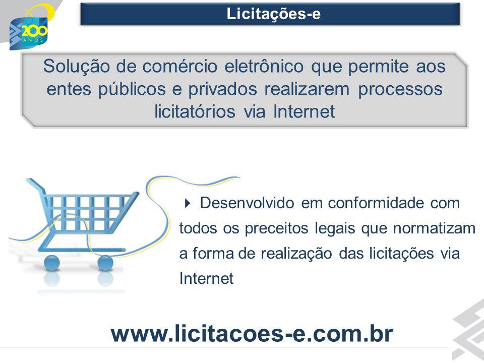 Diretoria de Governo Solução de comércio eletrônico que permite aos entes públicos e privados realizarem processos licitatórios via Internet Auto-Aten