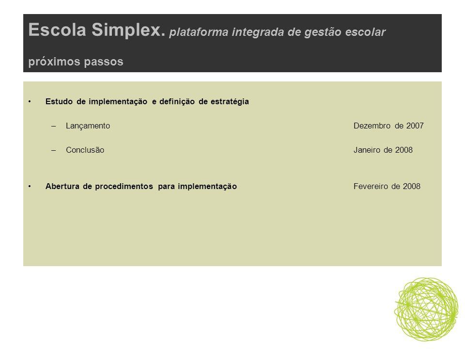 Escola Simplex.