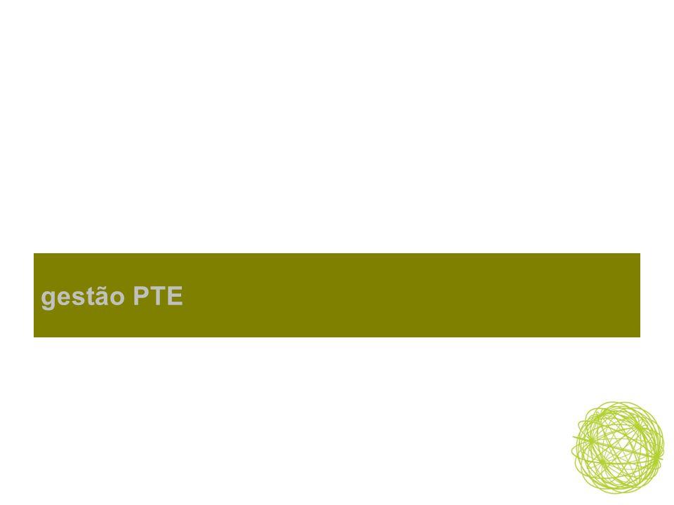 gestão PTE