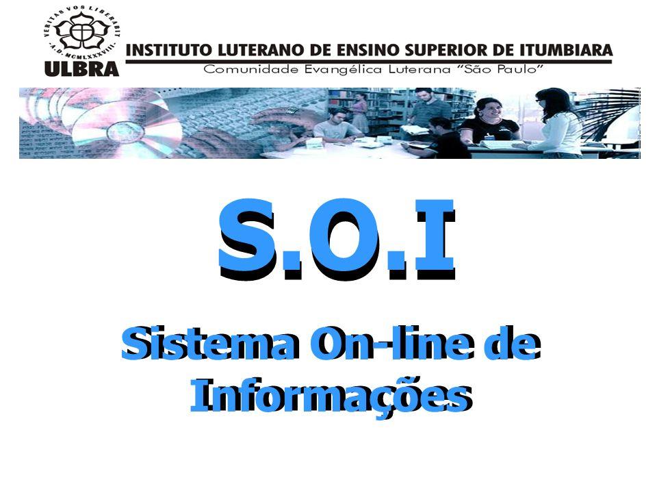 Sistema On-line de Informações S.O.I