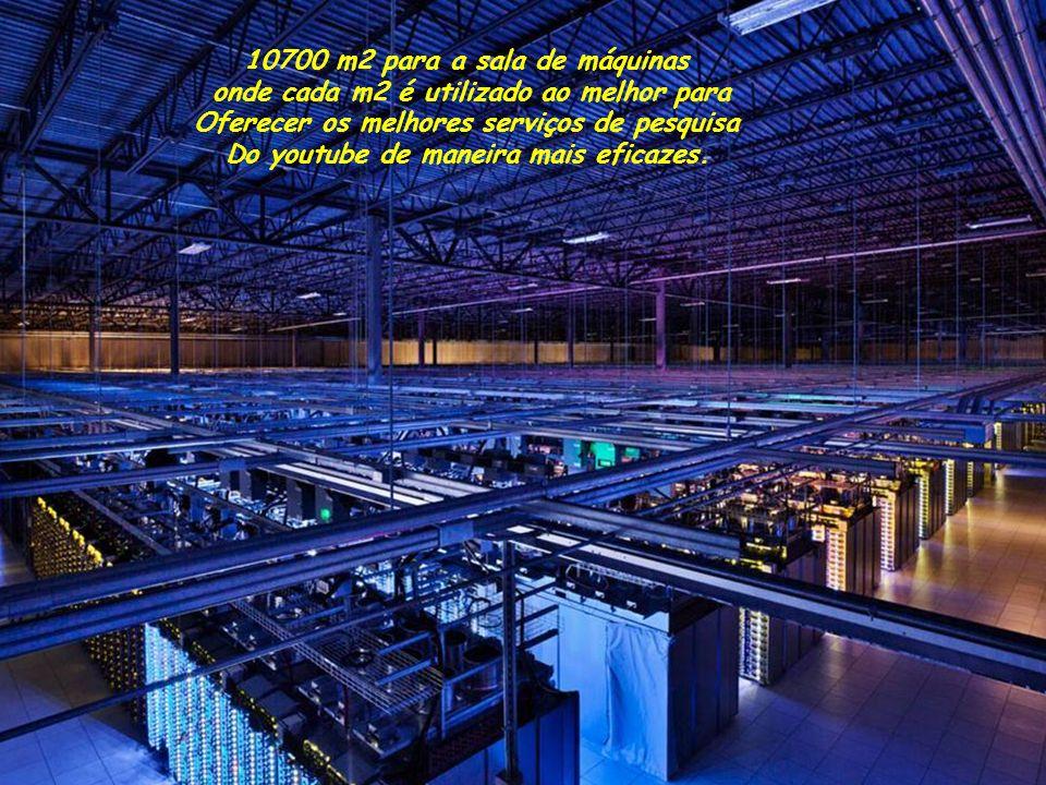 10700 m2 para a sala de máquinas onde cada m2 é utilizado ao melhor para Oferecer os melhores serviços de pesquisa Do youtube de maneira mais eficazes.