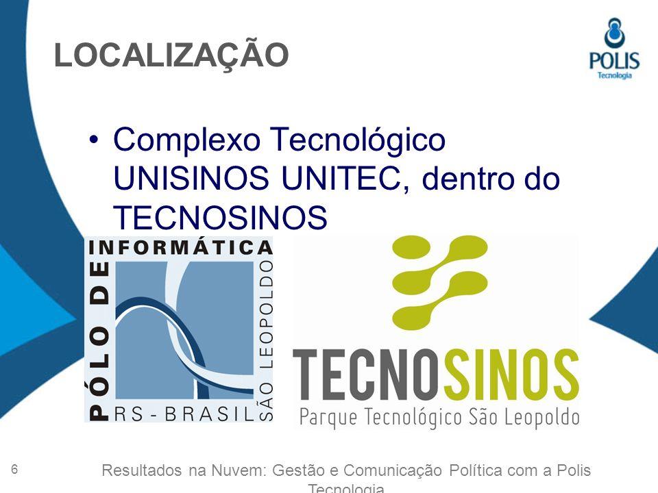 Gestão, Pesquisa e Inovação APOIADORES POLIS TECNOLOGIA Fomento à Inovação (PRIME) 7 Resultados na Nuvem: Gestão e Comunicação Política com a Polis Tecnologia